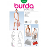 Burda Style Shoulder Bag Trio Messenger Bag Fabric Sewing Pattern 7223