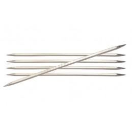 Knitpro Nova Metal Double Pointed Knitting Needles: 20cm