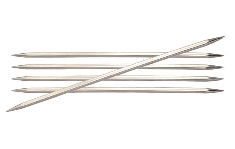 KnitPro Basix Double Pointed Knitting Needles Set of Five 20cm