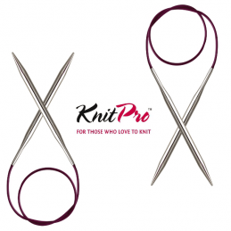 50cm Knitpro Nova Metal Fixed Circular Knitting Needles 2.00mm - 12.00mm