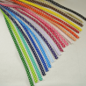 1m Fany 12mm Lace Edge Polka Dot Double Fold Bias Binding