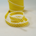Polka Bias Yellow