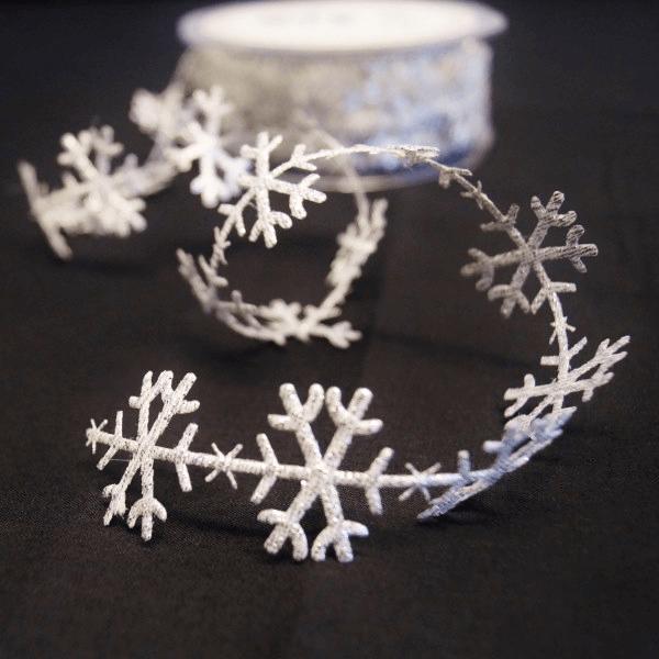 Snowflakes White