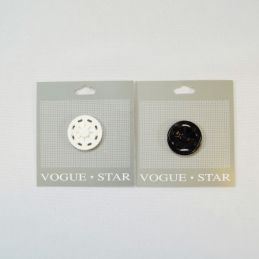 Vogue Star 30mm Large Press Stud Popper Fastener Accessories Replacement Popper