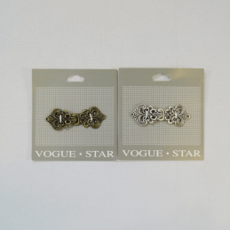Vogue Star 60mm Vintage Fleur De Lys Clasp Replacement Fastener Accessories