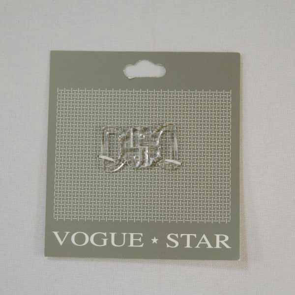 32mm Flower Heart Butterfly Clip Vogue Star
