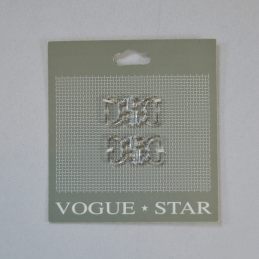 Vogue Star 26mm Pair of Flower Heart Butterfly Clip Replacement Fastener