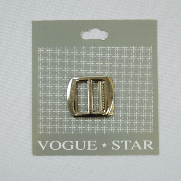 20mm Curved Rectangle Waistcoat Slide Buckle Fastener Vogue Star