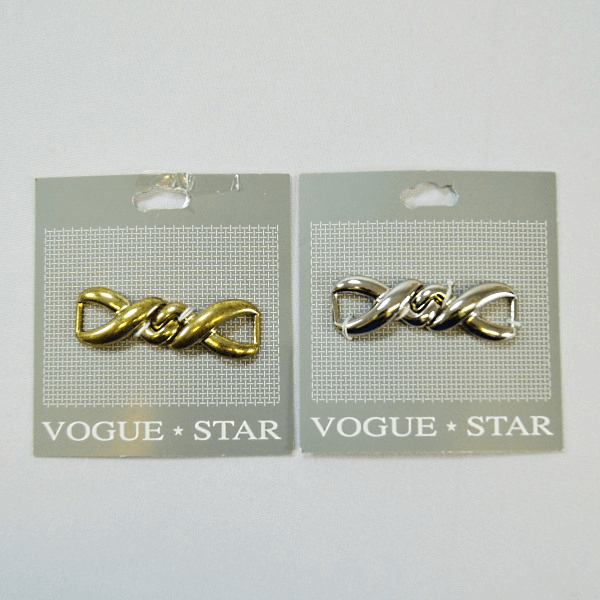 Vogue Star 55mm Twist Link Clasp Buckle Replacement Fastener