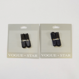 35mm Pair of Plastic Clip Cord Toggle Ends Vogue Star