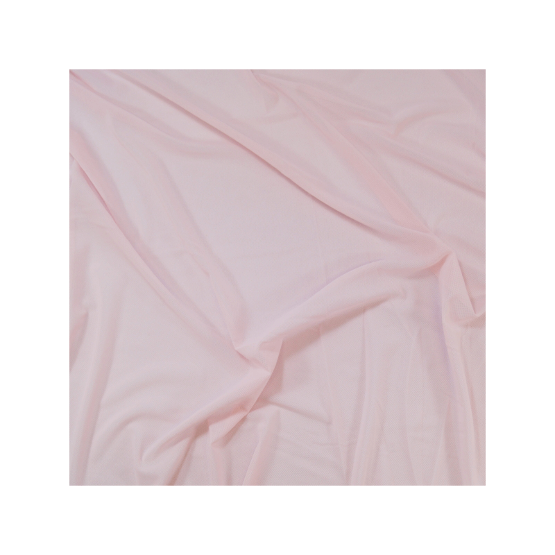 STRETCH MESH-PINK-DRESS//CRAFT FABRIC-FREE P/&P