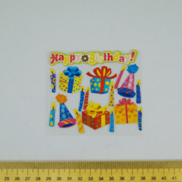 17 x Birthday Party Celebration Embellishments Craft Cardmaking Scrapbooking
