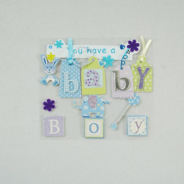 13 x Baby Boy Cute Christening Embellishments Craft Cardmaking Scrapbooking