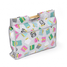 Fabric Swatches Samples Classic Sewing Knitting Craft Bag