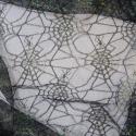 Pearl Spiderweb Net Lace Fabric