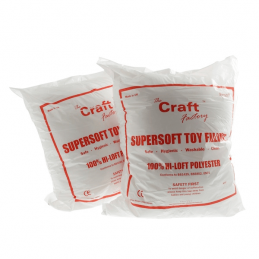 Toy Stuffing Filling Supersoft 250g Craft Factory