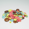 120g Buttons Assorted Colours & Sizes Craft Scarpbook Trimits