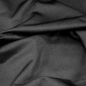 Plain Lycra Spandex Stretch Fabric Black