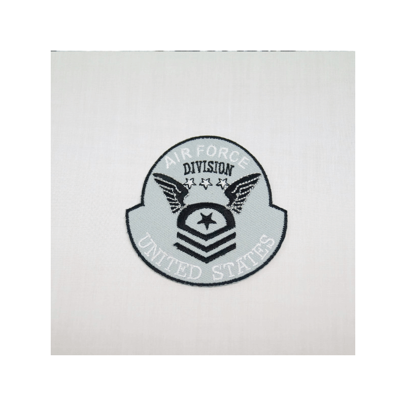 Air Force Division United States Embroidered Thermo Iron On Motif