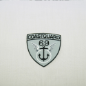 Coastguard 69 Embroidered Thermo Iron On Motif