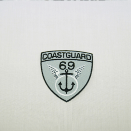 Coastguard 69 Embroidered Thermo Iron On Motif