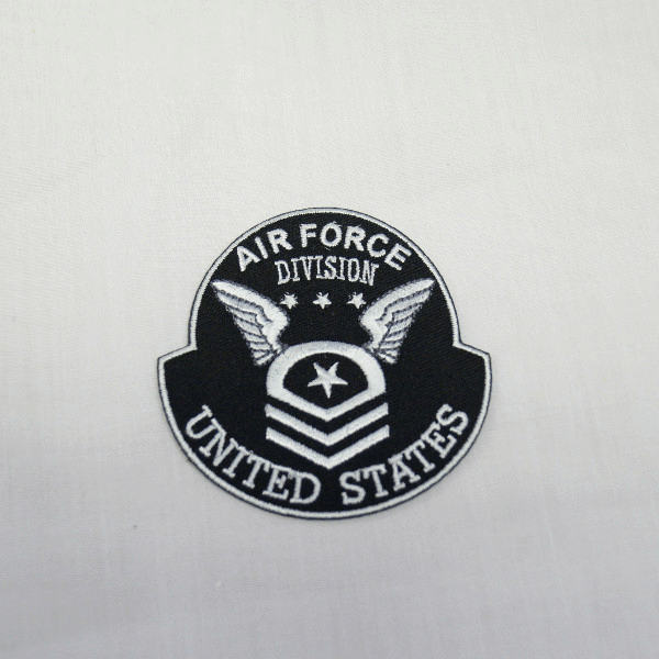 Air Force Division Wings Embroidered Thermo Iron On Motif