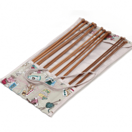 Filled Notions Design Value Knitting Pin Needles Roll Storage