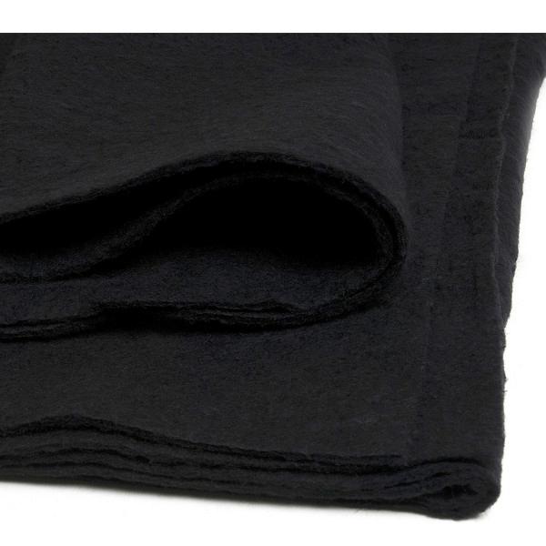 "Hobbs Heirloom 90 x 108"" Black Premium Cotton Wadding Batting Quilting"
