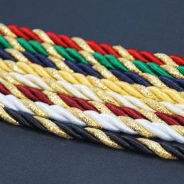 7mm Lurex Rayon Rope Cord Craft Trimming