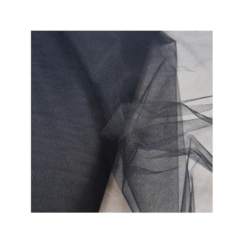 Dress Net Tutu Mesh Tulle Fancy Fairy Bridal Petticoat Material Fabric Black
