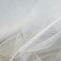 Dress Net Tutu Mesh Tulle Fancy Fairy Bridal Petticoat Material Fabric Silver Grey