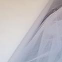 Dress Net Tutu Mesh Tulle Fancy Fairy Bridal Petticoat Material Fabric Silk White