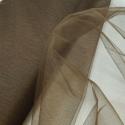 Dress Net Tutu Mesh Tulle Fancy Fairy Bridal Petticoat Material Fabric Peat Brown