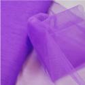 Dress Net Tutu Mesh Tulle Fancy Fairy Bridal Petticoat Material Fabric Purple