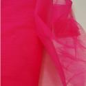 Dress Net Tutu Mesh Tulle Fancy Fairy Bridal Petticoat Material Fabric Cherry