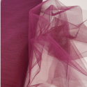 Dress Net Tutu Mesh Tulle Fancy Fairy Bridal Petticoat Material Fabric Wine