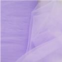 Dress Net Tutu Mesh Tulle Fancy Fairy Bridal Petticoat Material Fabric Lilac