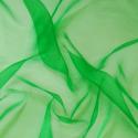 Sheer Organza Fabric Voile Drape Curtain, Wedding Fabric 150cm Wide Green