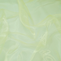 Sheer Organza Fabric Voile Drape Curtain, Wedding Fabric 150cm Wide Lemon