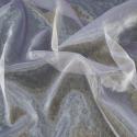 Sheer Organza Fabric Voile Drape Curtain, Wedding Fabric 150cm Wide Lilac