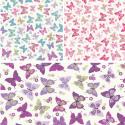 100% Cotton Fabric Lifestyle Flutterby Butterflies