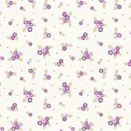 100% Cotton Fabric Lifestyle Ditsy Flowers Floral Polka Dots 140cm Wide
