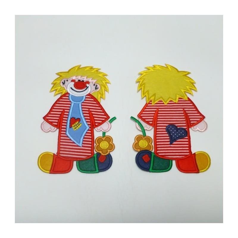 Clown Extra Large Logo Iron on Motif
