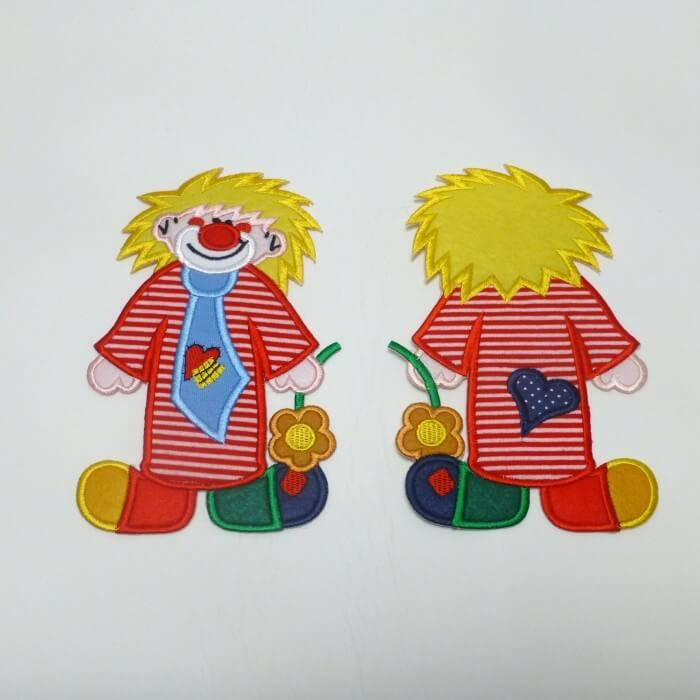 Clown Extra Large Logo Iron on Motif
