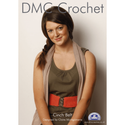 Cinch Waist Belt Craft Accessories DMC Petra Crochet Pattern D11886L2