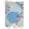 Baby Jumper with Diamond Brocade Pattern BHKC Knitting Pattern BHKC22