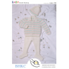 Baby Coat Leggings and Hat Babies Children BHKC Knitting Pattern BHKC26