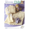 Basket Weave Jumper or Cardigan Toddler Child BHKC Knitting Pattern BHKC44