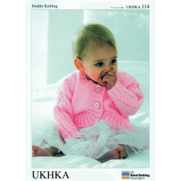 Baby Girl Bolero Shrugs Various Designs Knitting Pattern UKHKA114