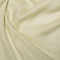 Cationic Chiffon Two Tone Fabric Cream